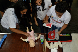 Professores das escolas municipais de Belo Horizonte participam do curso de primeiros socorros