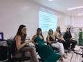 Maria Carolina Moraes,Amanda Firmo, Joana Penayo, Mônica Ribeiro e Vanessa Giovannini apresentam o painel