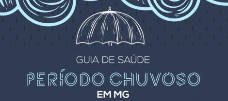 Entidades lançam um Guia de Saúde para o período chuvoso em Minas Gerais