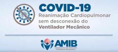 AMIB divulga vídeo sobre Reanimação Cardiopulmonar sem desconexão do ventilador mecânico