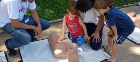Parceria com CRO ensina a salvar vidas