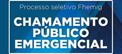 Fhemig contrata profissionais da saúde de forma emergencial para o Hospital Alberto Cavalcanti
