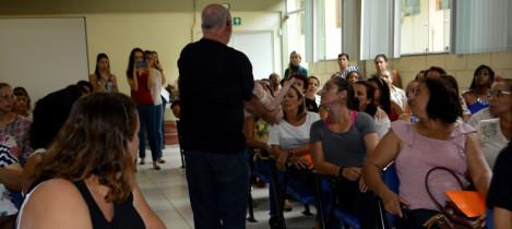 Professores de Nova Lima participam de treinamento sobre primeiros socorros