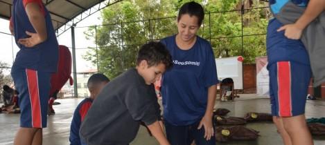 Campanha encerra com 1500 crianças treinadas