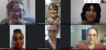 Reunião virtual do Departamento de Psicologia da Somiti