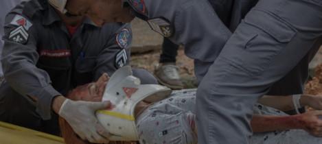 Simulado contribui para atuação na emergência