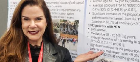 Instrutora da Somiti apresenta trabalho na American Heart Association