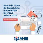 Prova de Título de Especialista em Medicina Intensiva - Adulto 2020