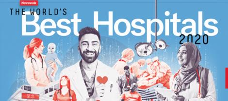 Revista Newsweek divulga lista dos melhores hospitais do mundo