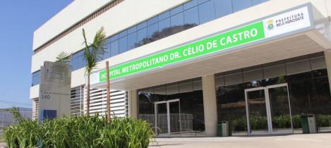 Hospital Dr. Célio de Castro abre processo seletivo para contratação de médicos e enfermeiros
