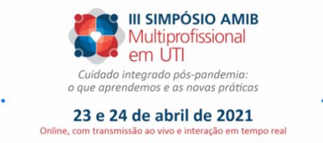 III Simpósio AMIB Multiprofissional em UTI